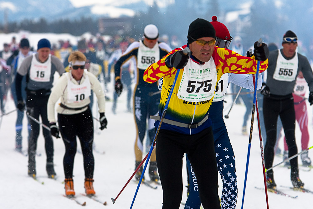 Yellowstone Rendezvous Ski Race