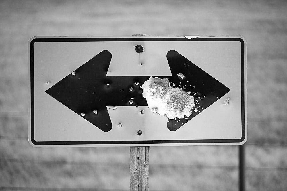 Shot Sign